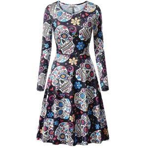 Sugar skull dress 💀